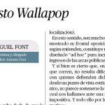 El nuevo artículo de Miguel Font: Impuesto Wallapop