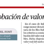artículo de Miguel Font
